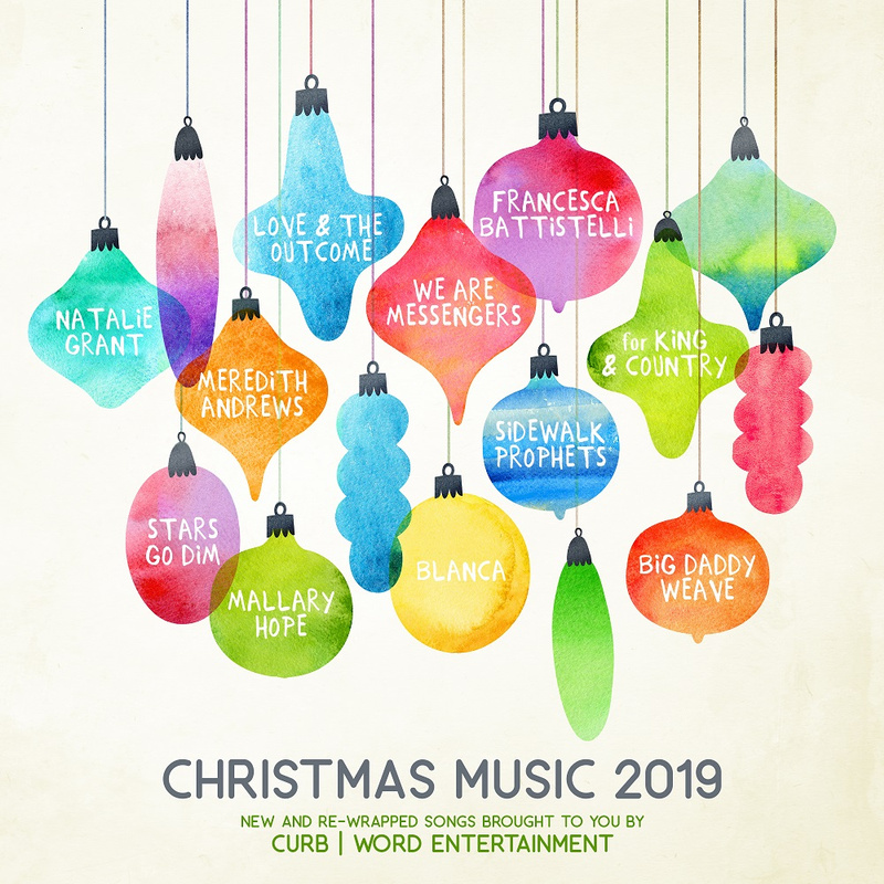 Various Artists Curb Word Christmas Music 2019 Daily