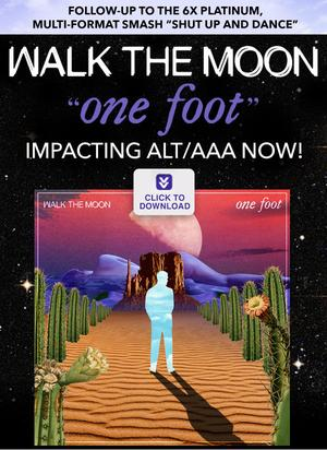 Triple Aaa Number >> Walk The Moon - One Foot (Rock Mix - Radio Edit) - Daily Play MPE®Daily Play MPE®