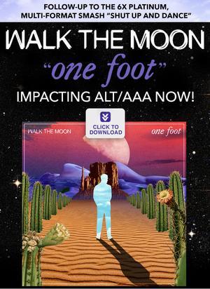 Triple Aaa Number >> Walk The Moon - One Foot (Rock Mix - Radio Edit) - Daily ...