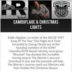 Eddie Kilgallon – Camouflage and Christmas Lights