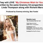 Sandra Lynn – My Christmas Wish for You